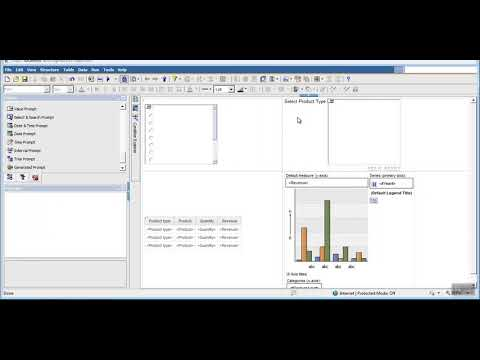 cognos tutorial step by step