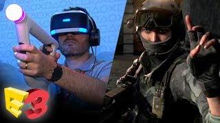 E3 2017 : On a joué à Bravo Team sur PlayStation VR, nos impressions sans couverture