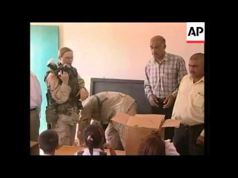 Schools reopen in Baghdad