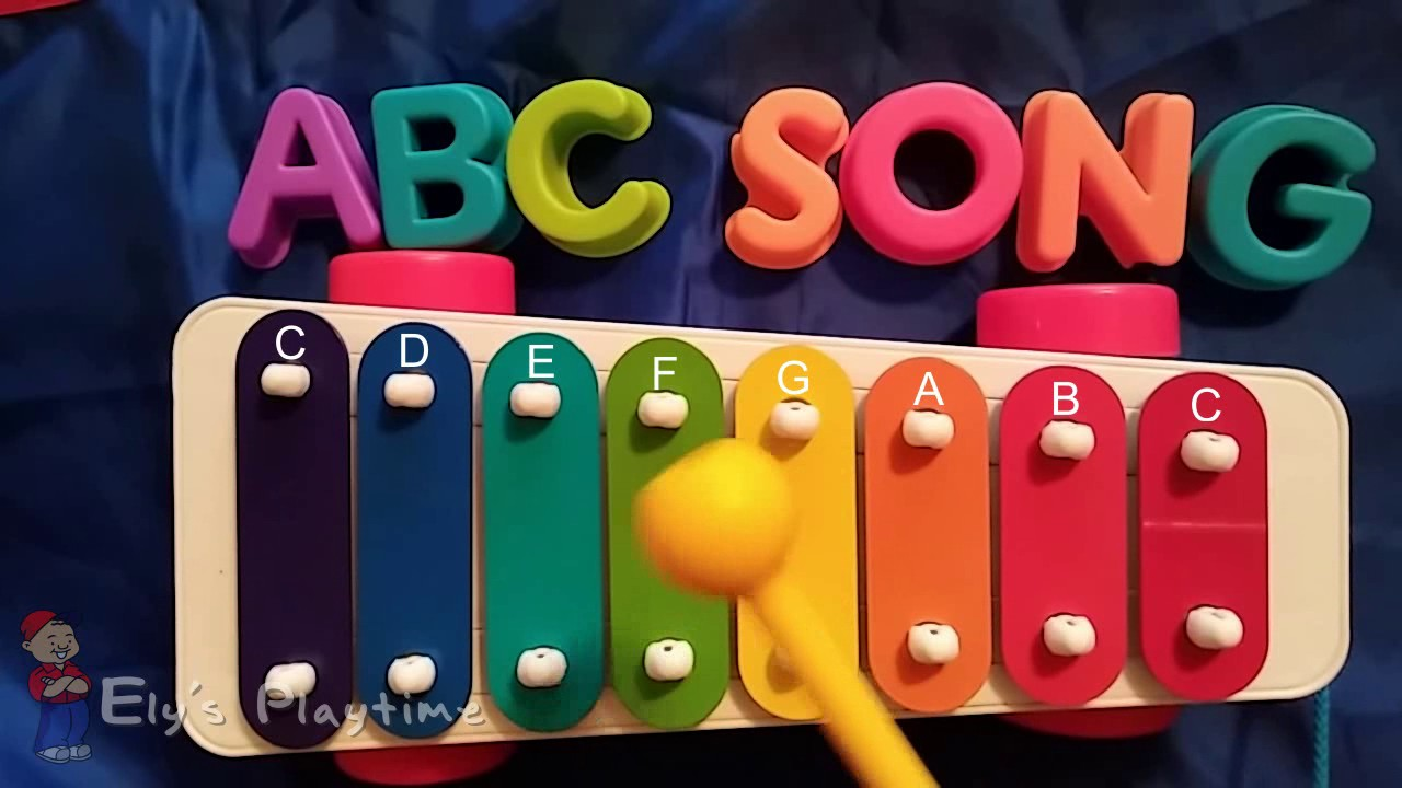 How To Play Abc On A Kids Xylophone Sing Along