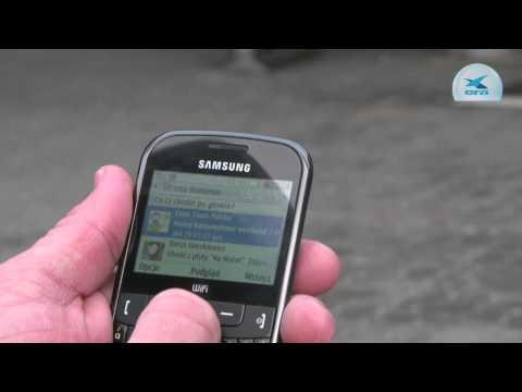 Samsung Ch@t 335: klawiatura za grosze