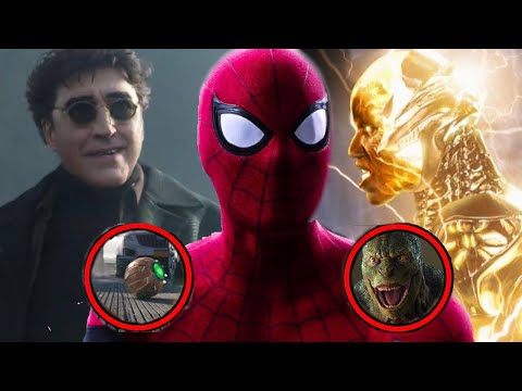 Spider Man No Way Home Teaser Trailer ALL SINISTER SIX VILLAINS & First Looks Breakdown   THEY BACK! - Видео онлайн