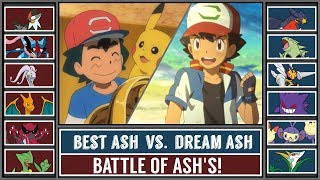 BEST ASH vs. DREAM ASH (Pokémon Sun/Moon)