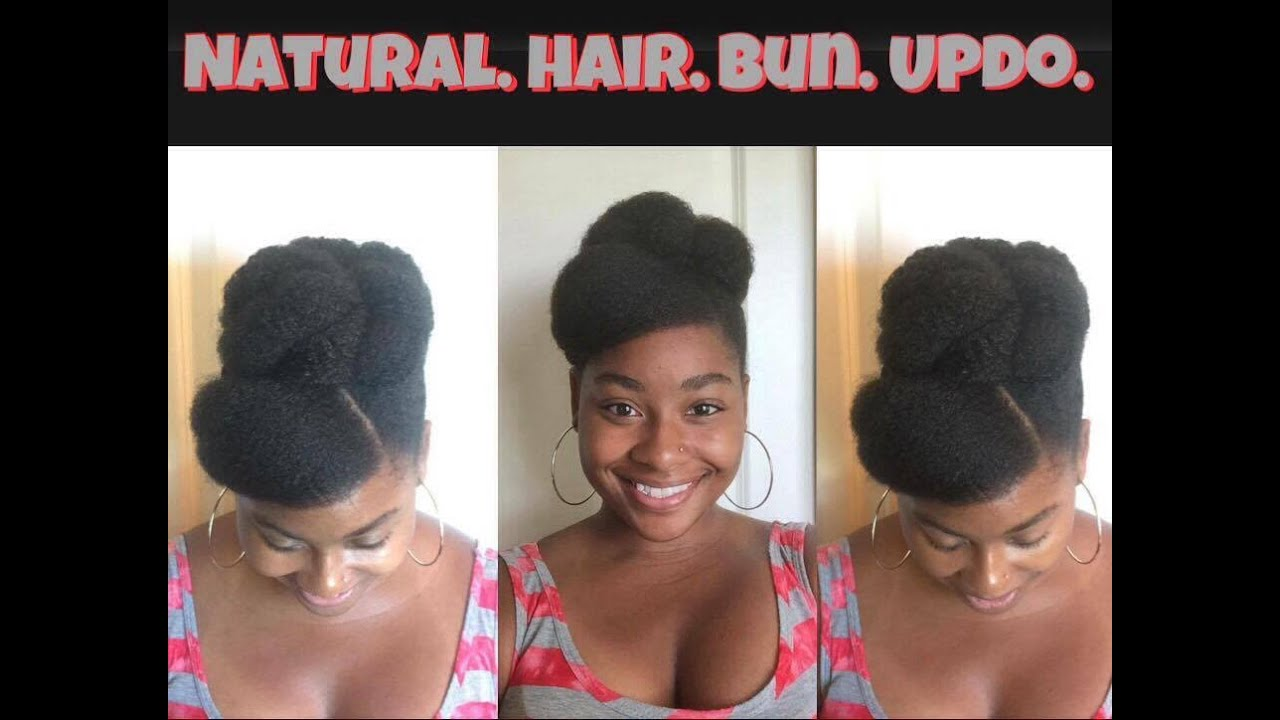 easy protective styles hair how to hair 4c bun updo protective styling as 9535