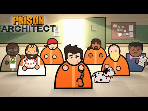 THIS NEW DLC IS AMAZING (Second Chances) - Prison Architect (21) |