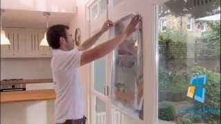 Тонировка окон квартир зеркальной пленкой своими руками(, 2014-08-06T15:47:53.000Z)
