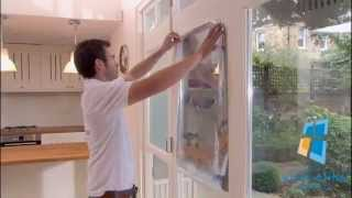 видео светоотражающая пленка на окна спб