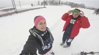 Поездка домой!!! Красивая зима и активный отдых в Латвии!!!