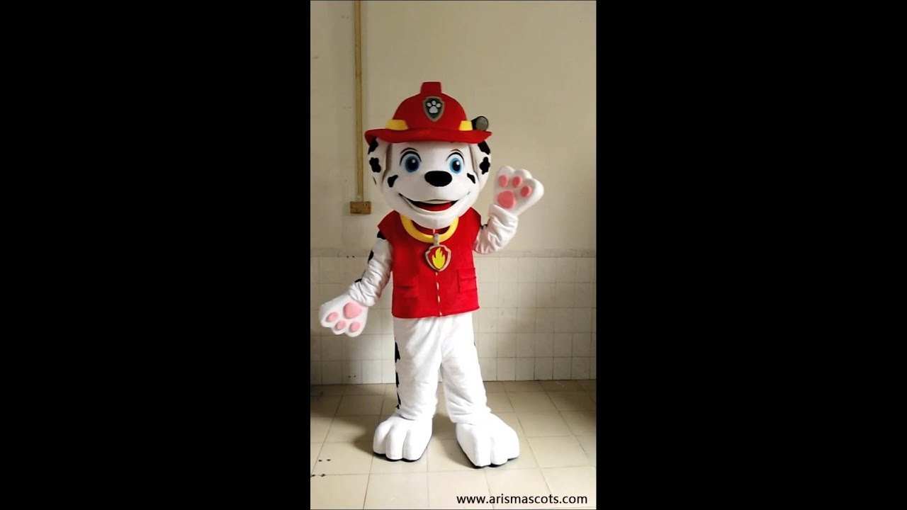 adult size Paw Patrol mascot costume for sale marshall mascot costume & adult size Paw Patrol mascot costume for sale marshall mascot ...