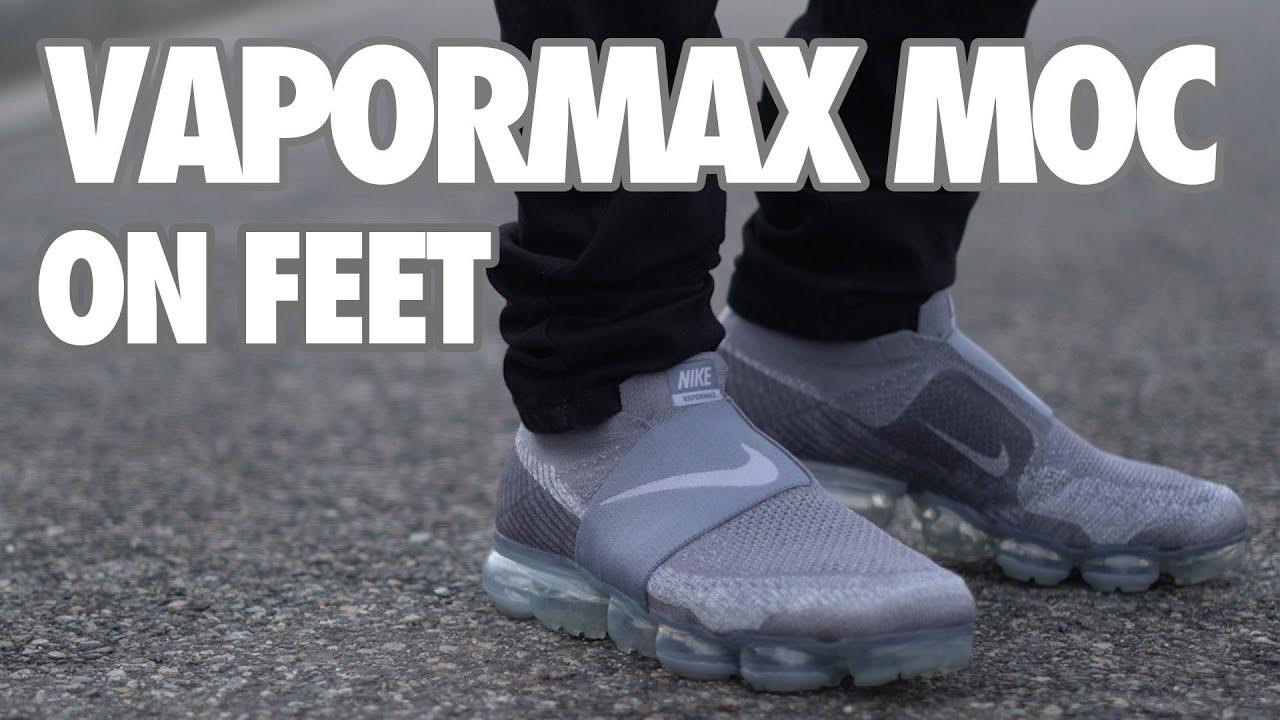 vapormax moc 2 on feet