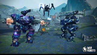 War Robots:- Castle Map Gameplay_Halloween Update || War Robots 2018