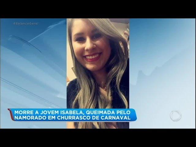 Jovem morre em hospital depois de ser queimada pelo namorado