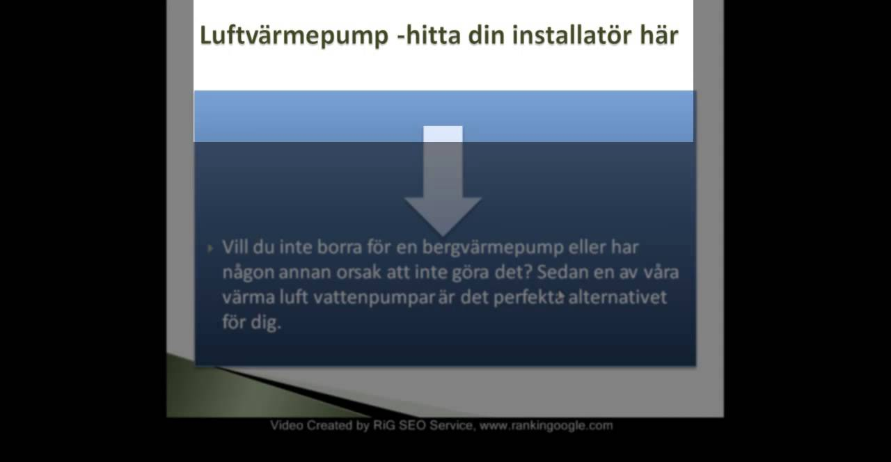 Luft vatten värmepump - luftvärmepumpar test - YouTube