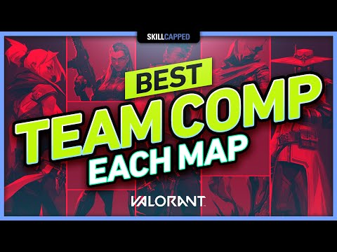 The BEST TEAM COMP for EVERY MAP - Valorant Tips, Tricks & Guides