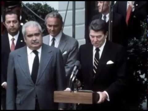 President Reagan's and President Luis Herrera's of Venezuela Departure Remarks on November 18, 1981