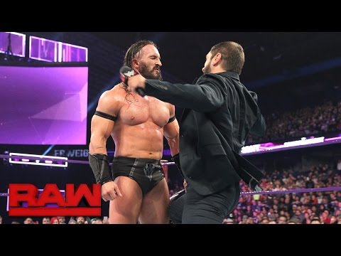 Thumbnail: Austin Aries attacks Neville: Raw, March 6, 2017