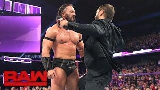 Austin Aries attacks Neville: Raw, March 6, 2017