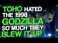 Toho Hated the 1998 Godzilla So Much They Blew It Up (What is Cloverfield: God Particle)