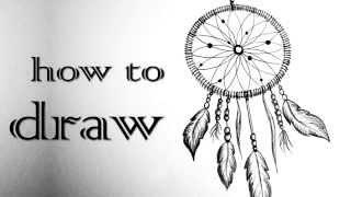 DREAMCATCHER | Traumfänger ♥ Black & White  Mandala | HOW TO DRAW