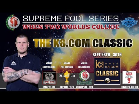 Ronan McCarthy vs Ben Flack - T3 - The Supreme Pool Series - K8.com Classic - Race to 11