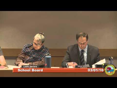 School Board 3.1.16