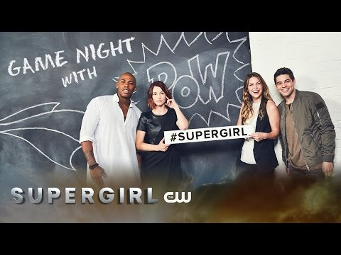 Supergirl Game Night with Supergirl: 360° Video | Melissa Benoist, Chyler Leigh & More