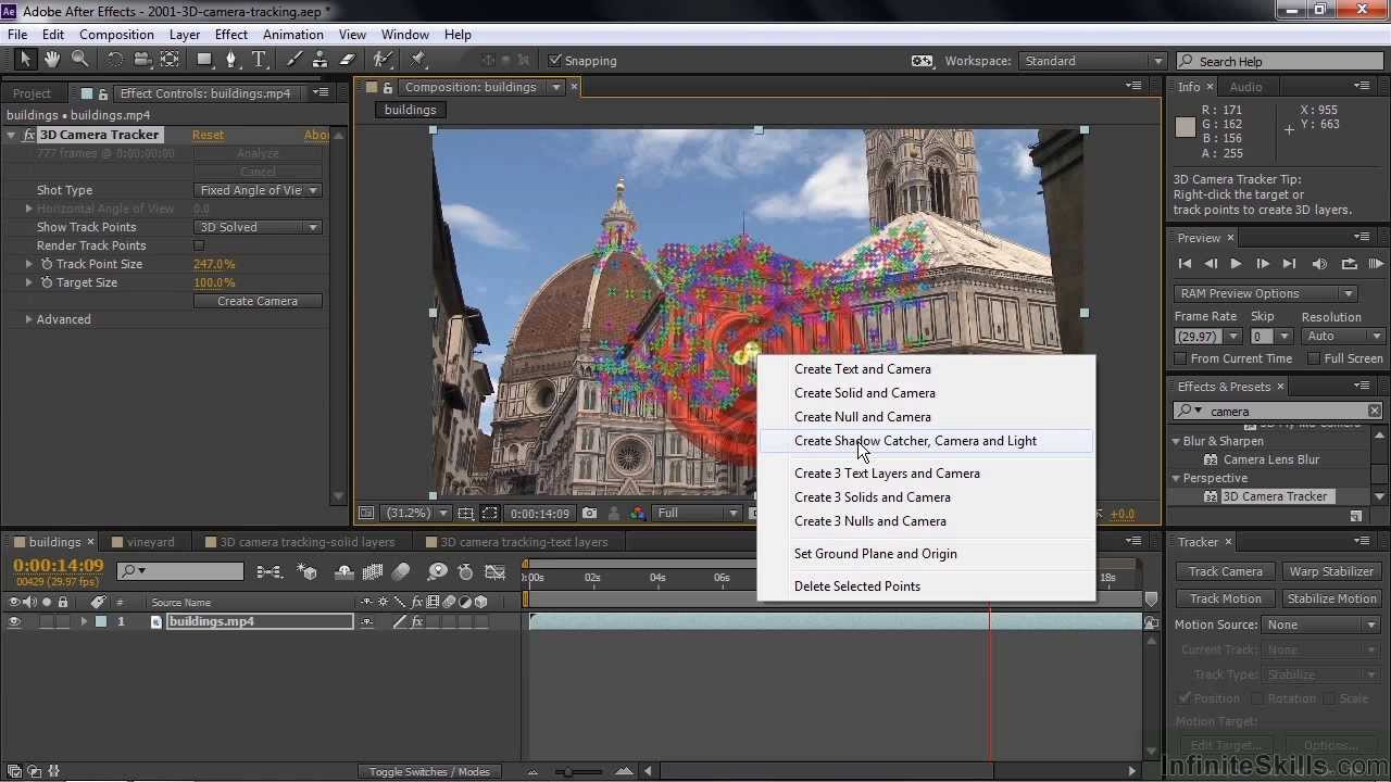 How to do 3d motion tracking with after effects cs6, boujou 5, and.