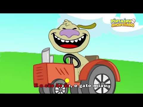 Pintainho Amarelinho - Pintinho Piu (Vídeo Oficial)
