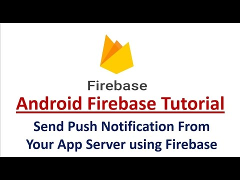 Send Android Push Notification From Your App Server using Fi