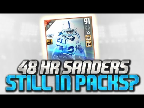 48 Hour Bob Sanders STILL IN PACKS!! HOW?! Madden 17 Ultimate Team Pack Glitch?