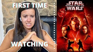 STAR WARS EPISODE 3: REVENGE OF THE SITH REACTION (tears)