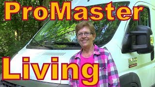 Interview with Carolyn Living in a Dodge ProMaster