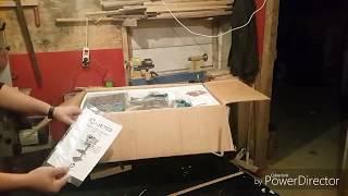 Jetco jdp16 sütunlu matkap kutu açılımı ve kurulumu