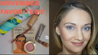 November Favorites, 2014 - Makeup & Hair Thumbnail