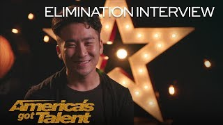 Elimination Interview: Mochi Gives His Heartfelt Mochi Power To You - America's Got Talent 2018
