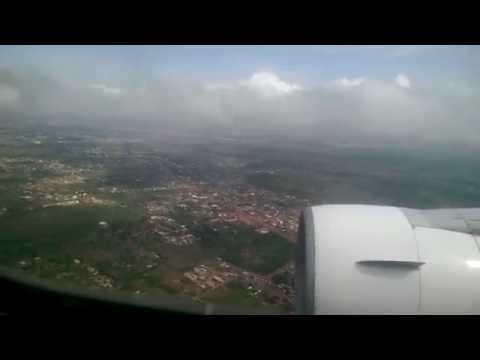 Ethiopian Airlines Boeing 767-300ER descend and landing into