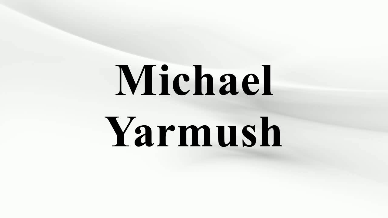 Communication on this topic: Normand D'Amour, michael-yarmush/