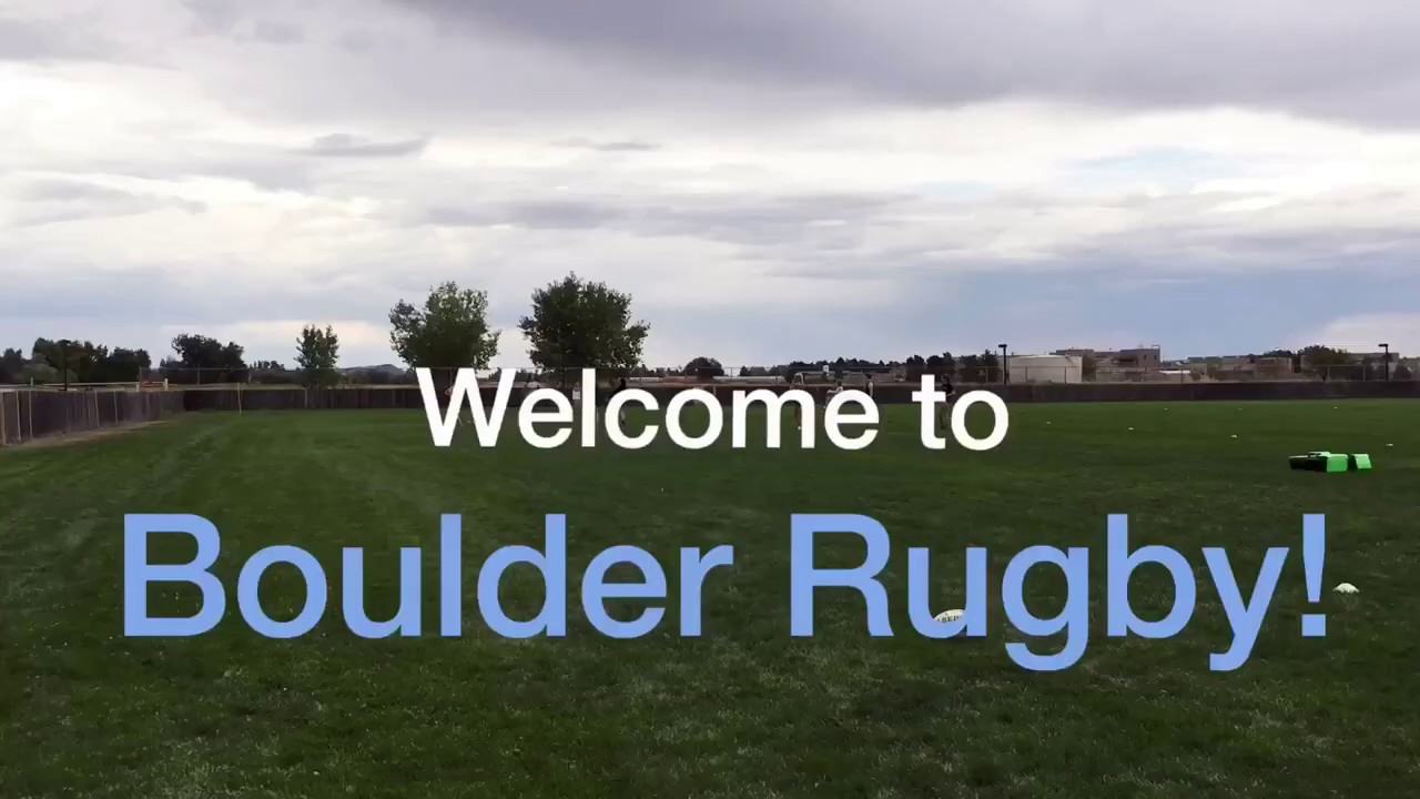 Welcome to Boulder Rugby