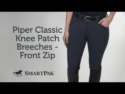Piper Classic Knee Patch Breeches - Front Zip Review