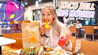 I ONLY ate Taco Bell for 24 HOURS!