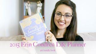 How I Use My 2015 Erin Condren Life Planner || An Inside Look