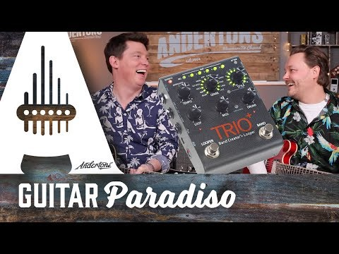 Guitar Paradiso – Digitech Trio+ NEW FOR NAMM 2016