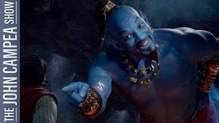 Let's Talk About That Will Smith Genie In Aladdin's Trailer - The John Campea Show