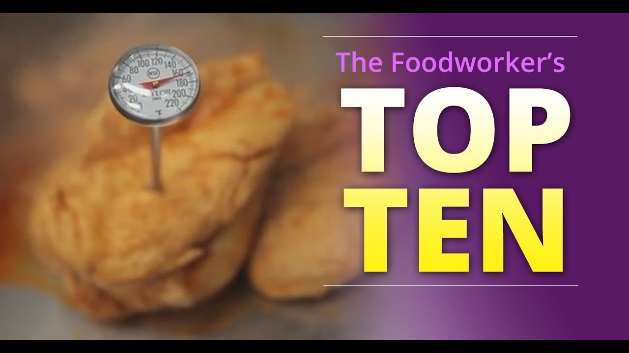 """UPDATE - Basic Food Safety for Oregon: Chapter 6 """"The Foodworker's Top 10"""" (English)"""