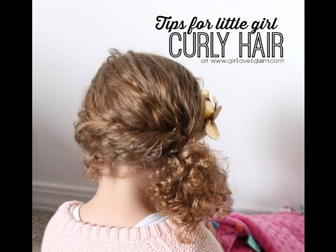 Tips For Little Girl Curly Hair Toddler Edition Youtube