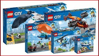 LEGO Unboxing CITY Police Department 2019 sets - Unboxing for Collecrors