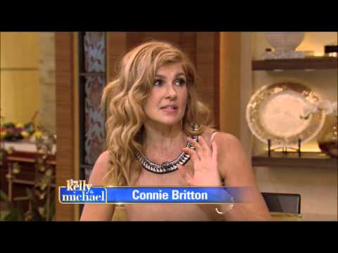 Connie Britton Live With Kelly and Michael  2015 08 13