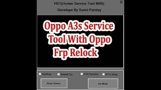 Opoo Service Tool 2018 Oppo Service Tool Latest Version