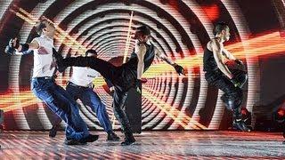 Martial arts troupe Cascade - Britain