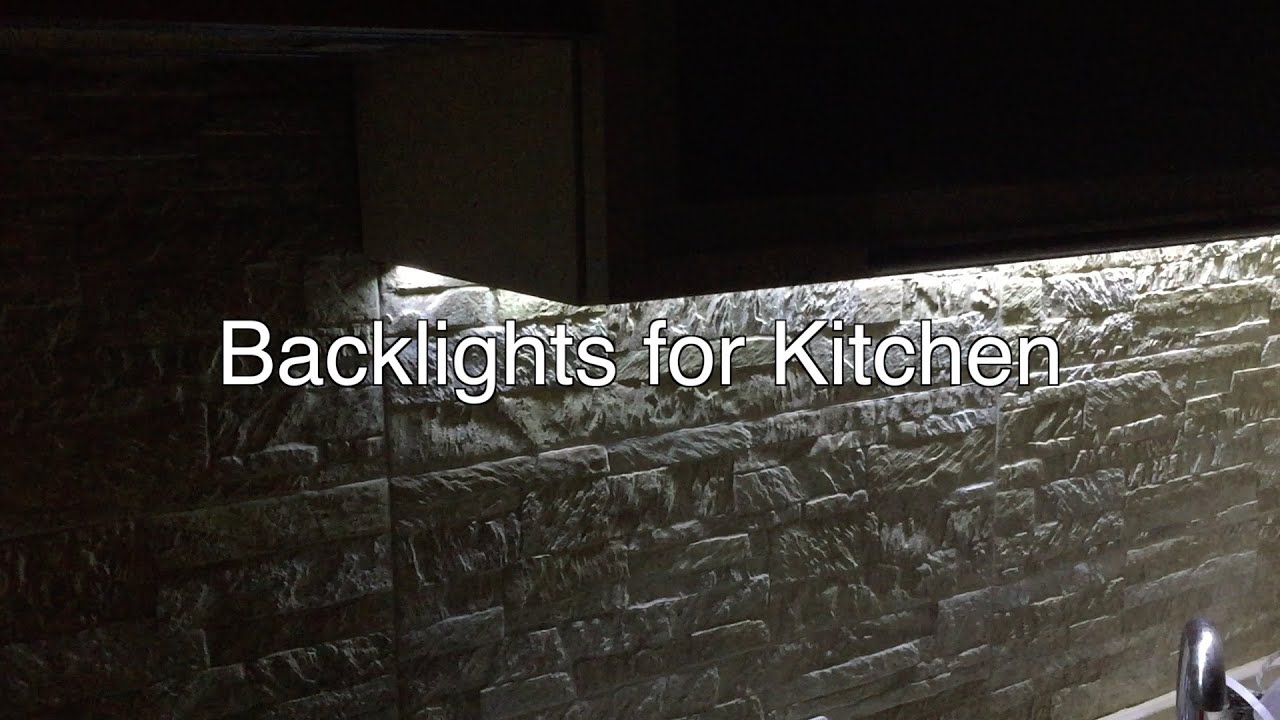 diy smooth on off led strip lighting solutions for kitchen